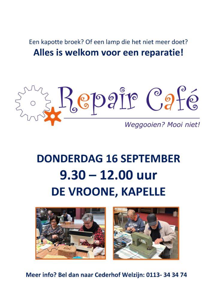 Repair Café @ De Vroone